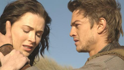 Kahlan Amnell and Richard Cypher played by Bridget Regan and Craig Horner