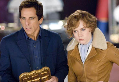 Ben Stiller and Amy Adams in Night at the Museum: Battle of the Smithsonian