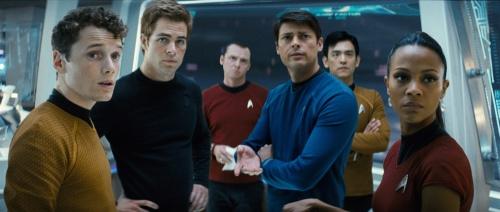 Star Trek 2009 crew